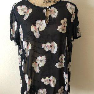 Ann Taylor short sleeve blouse